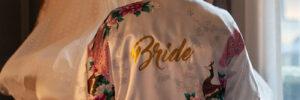 Bride wedding dress Renaissance Hotel St Pancras